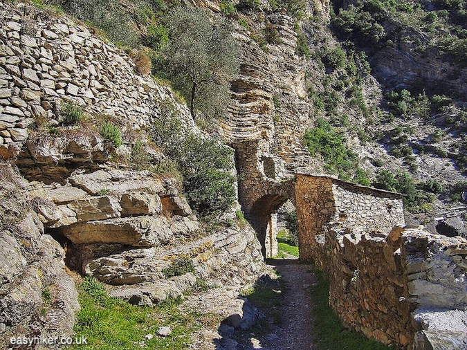 """Porta di Genova on a Sporty Hike in Breil sur Roya"""