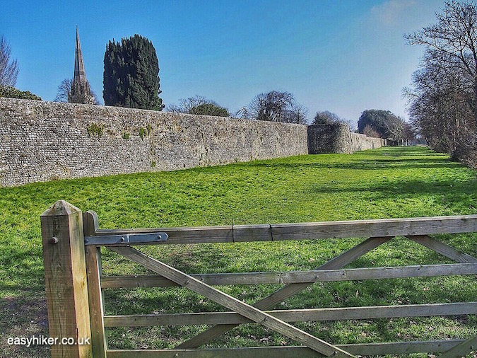 """""""roman fortifications - one of the Three for One in Chichester"""""""