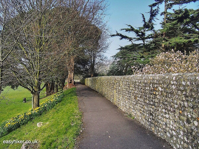 """""""part of Roman walls - one of the Three for One in Chichester"""""""