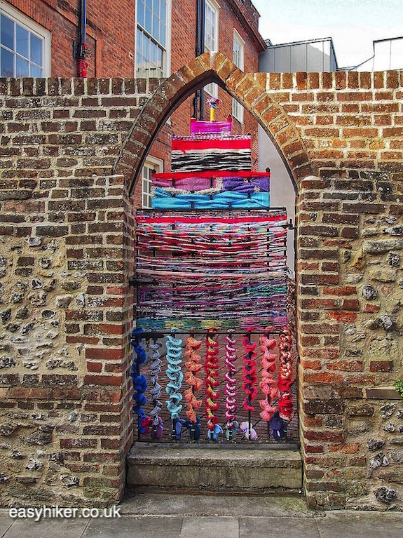 """""""representation of a cathedral - one of the Three for One in Chichester"""