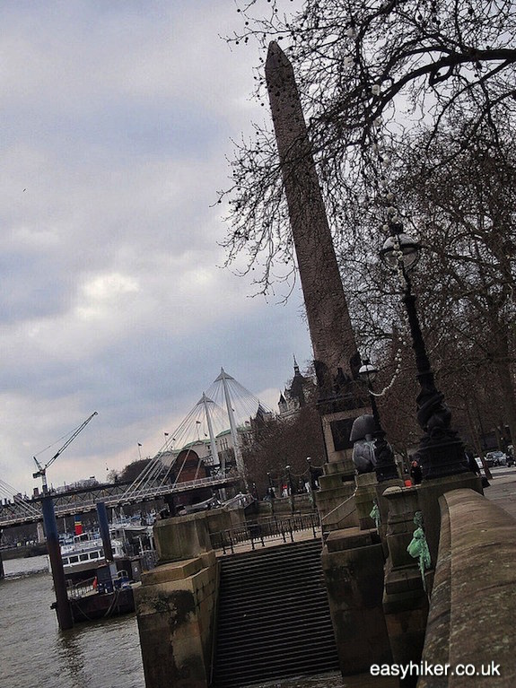 """Cleopatra's Needle - in search of the Ghosts of London"""