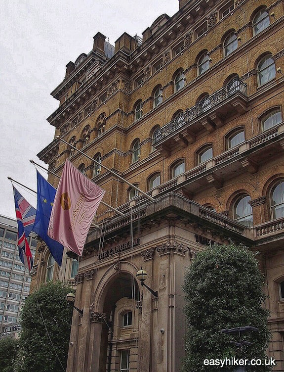 """Langham Hotel - in search of the Ghosts of London"""