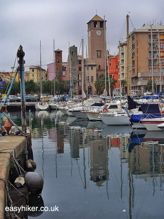 Harbour near the fortress of Savona - Surprise Package of the Italian Riviera""