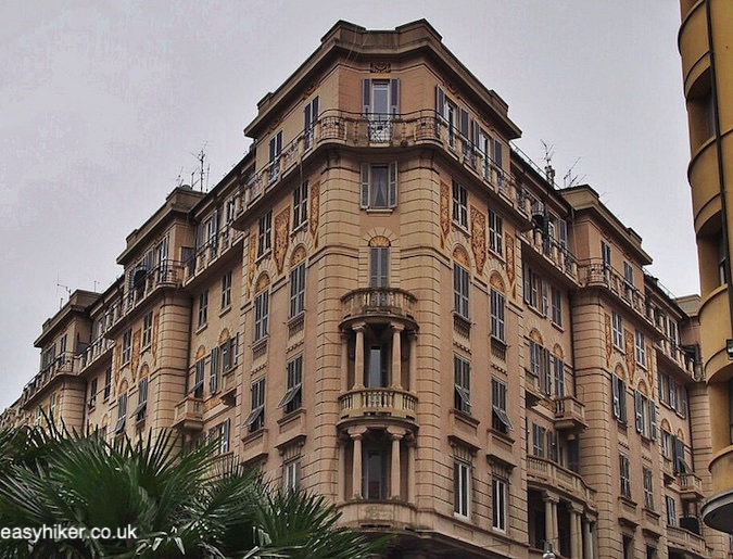 """art nouveau building in Savona - Surprise Package of the Italian Riviera"""