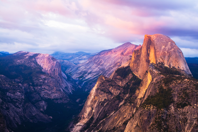 """half dome usa - one of the Five Amazing Mountains for Easy Hikers"""