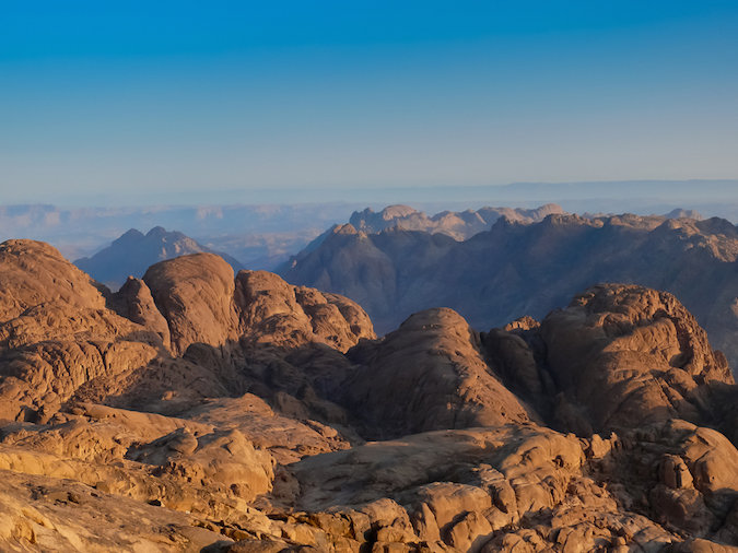 """Mit Sinai - one of the Five Amazing Mountains for Easy Hikers"""