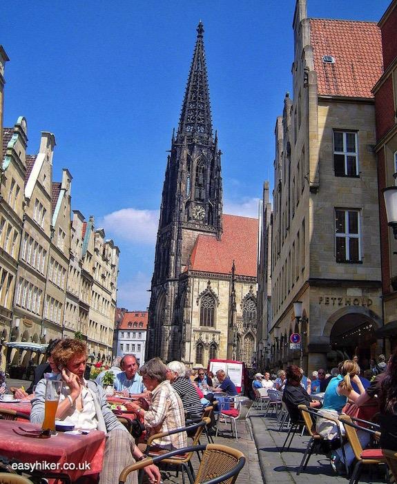 """""""Prinzipalmarkt in Muenster a modern art hotspot"""""""