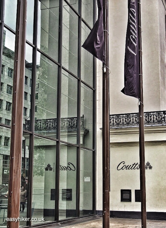 """Coutts along the walk around Haunted City of London"""