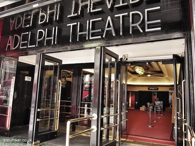"""Adelphi Theatre along the Haunted City of London"""