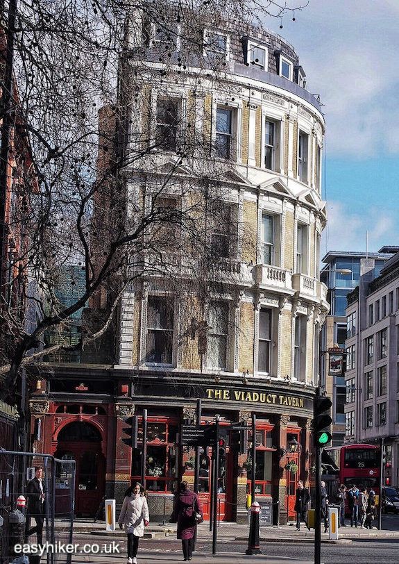"""Viaduct Tavern on a London walk not for the fainthearted"""