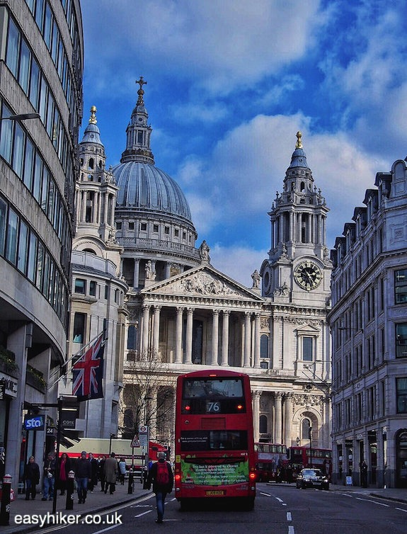 """St Pauls Cathedral on a London walk not for the fainthearted"""