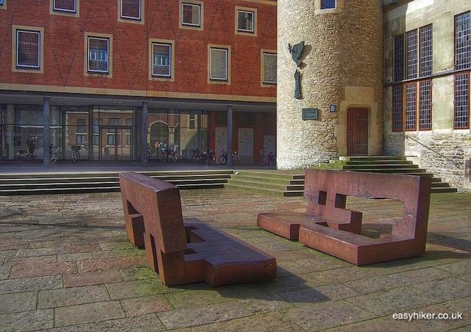 """""""Eduardo Chillida's Tolerance Through Dialogue in Muenster a modern art hotspot"""""""