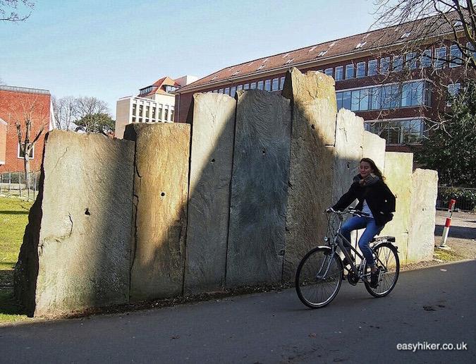 """""""Ulrick Rückriem's Dolomite Cut in Muenster a modern art hotspot"""""""