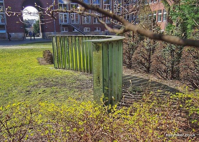 """""""Harald Klingelhöller's The Meadow Laughs in Muenster a modern art hotspot"""""""
