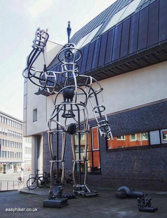 """""""Tom Otterness's Superwoman in Muenster a modern art hotspot"""""""