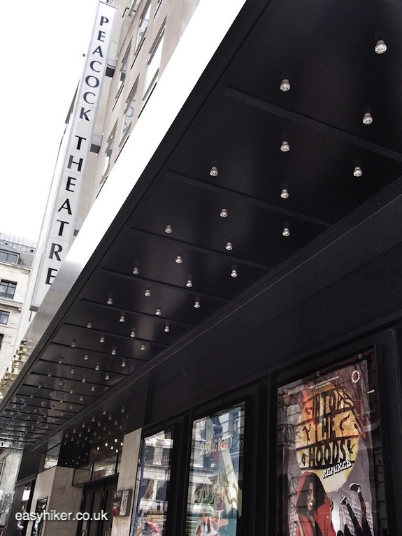 """""""Peacock Theatre along the Haunted City of London"""""""