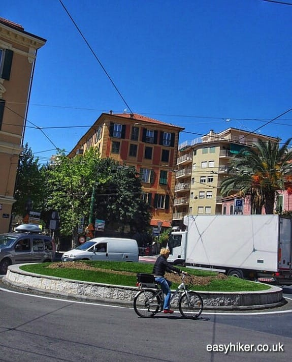 """roundabout for the Professional Cycling in Sanremo"""