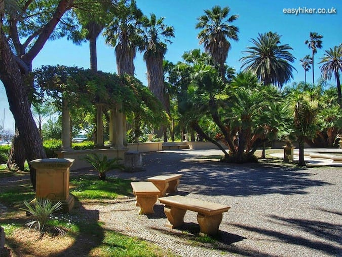 """Nobel Park along the Professional Cycling trail in Sanremo"""