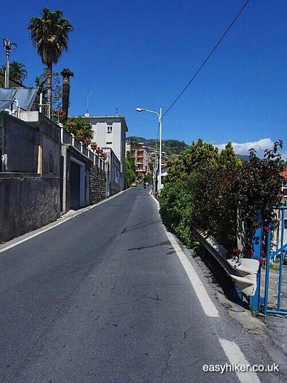 """""""Professional Cycling up Poggio hill in Sanremo"""""""