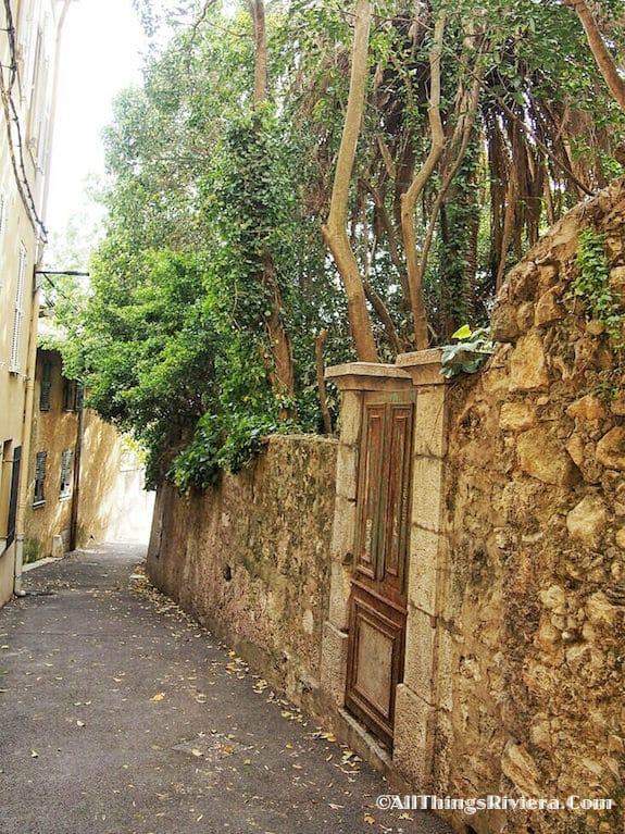 """""""street towards train station - Grasse is for inhaling"""""""