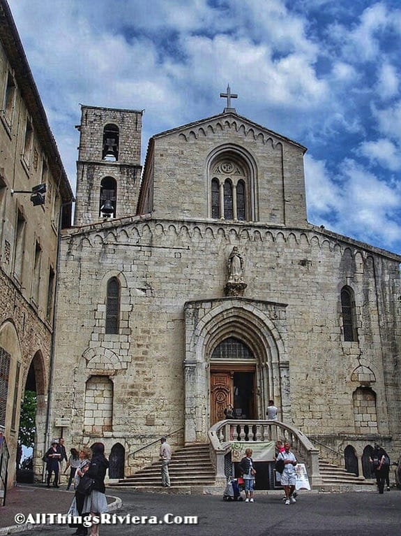 """""""city cathedral - Grasse is for inhaling"""""""