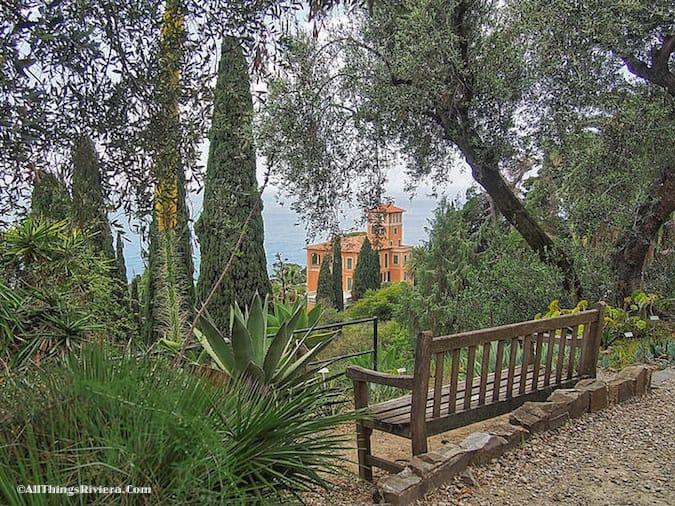 """""""The Villa Hanbury, in the greatest of all Riviera gardens"""""""