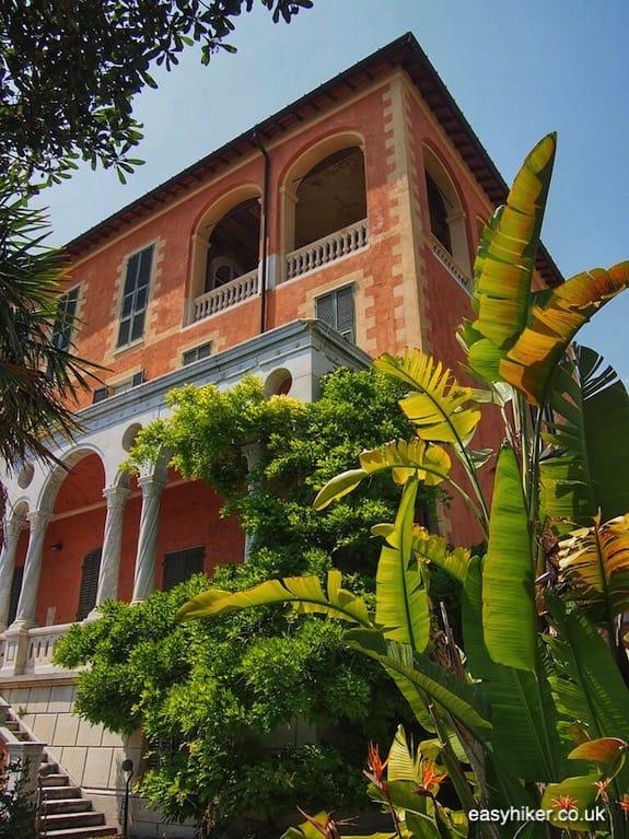 """""""Villa Hanbury in the greatest of all Riviera gardens"""""""