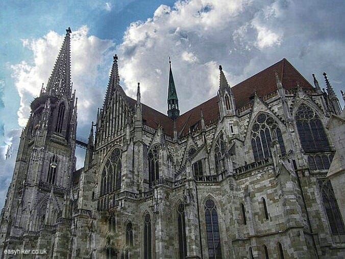 """Regensburg cathedral - Regensburg you got a heart of stone"""