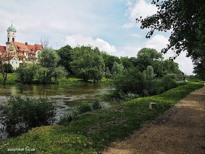 """the island by the Donau - Prelude to a Blue Danube Dream"""