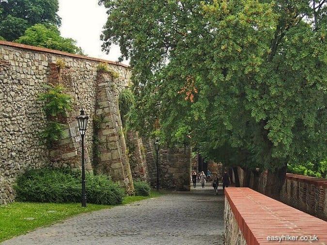 """""""castle surrounding - Danube in Bratislava"""""""