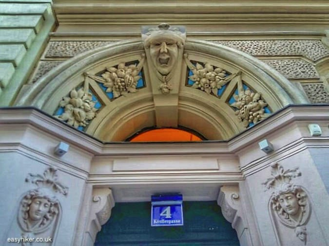 """doorway of building - More Lies About Vienna"""