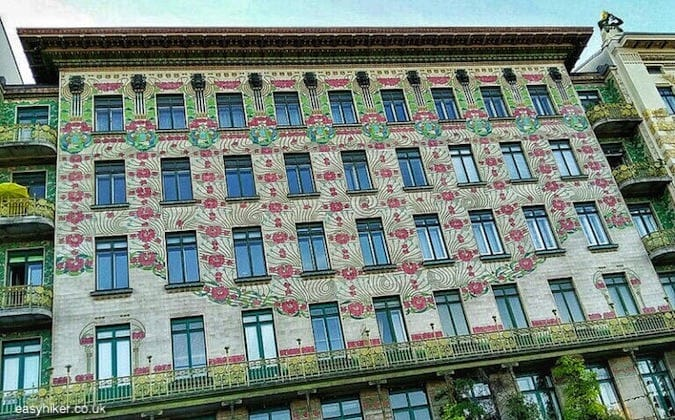 """Art Nouveau building by Otto Wagner - More Lies About Vienna"""