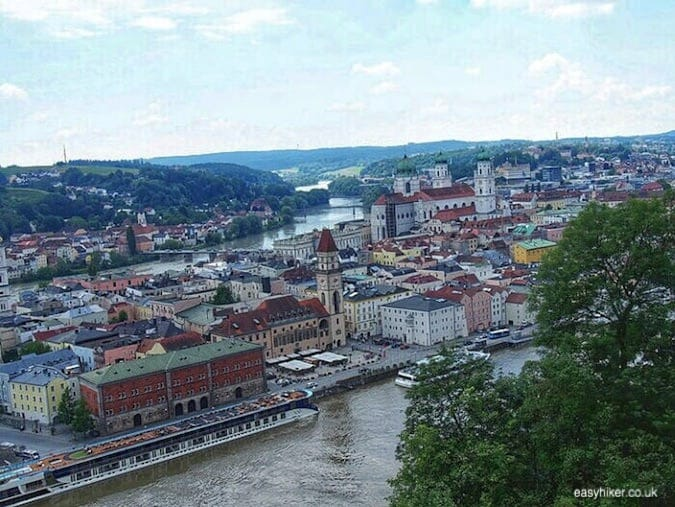 """view of Passau - Second Movement of the Blue Danube"""