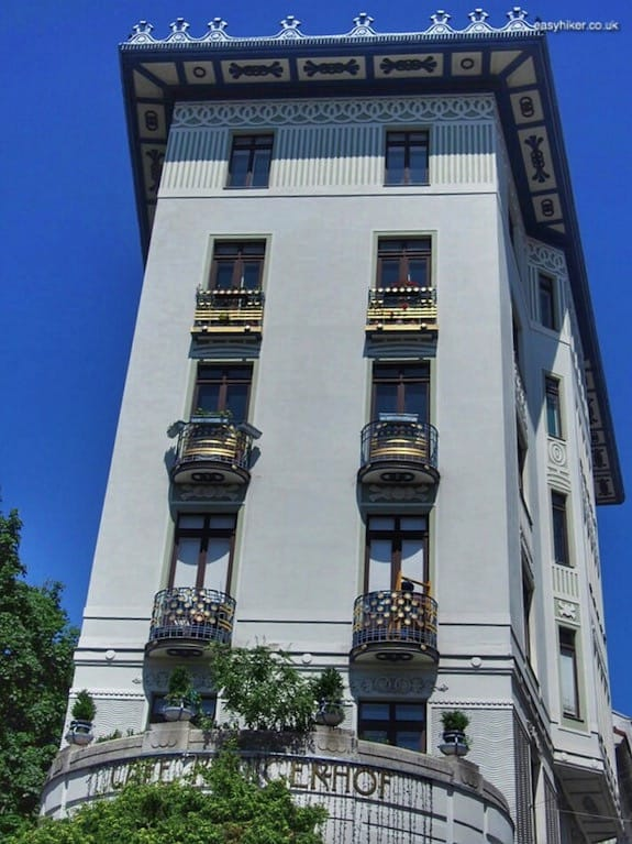 """Jugendstil building along Wienzeile Blvd - More Lies About Vienna"""