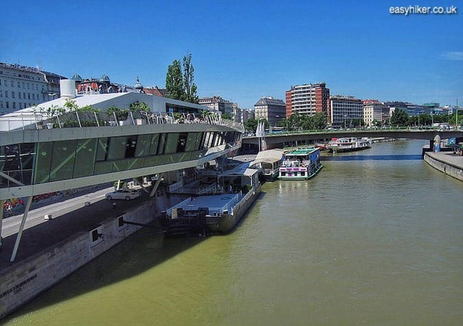 """""""The river Danube seen from city - Many Truths About Vienna"""""""