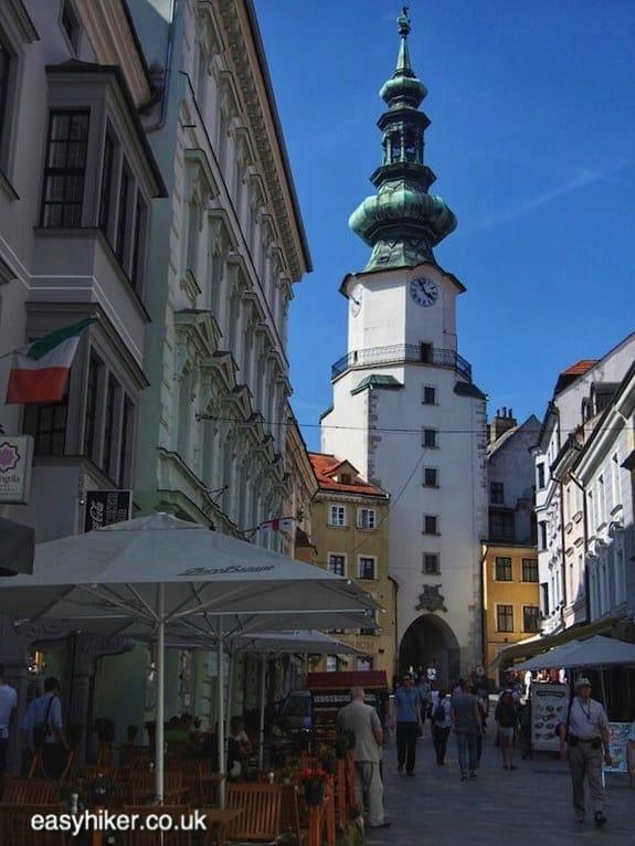 """""""old town - Danube in Bratislava"""""""