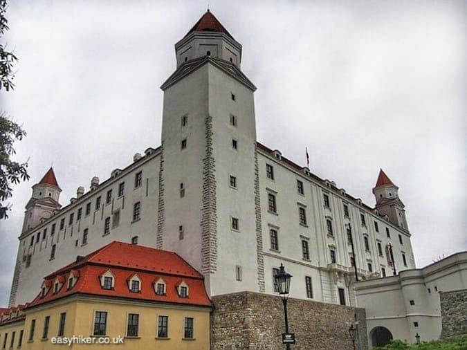 """""""castle - Danube in Bratislava"""""""