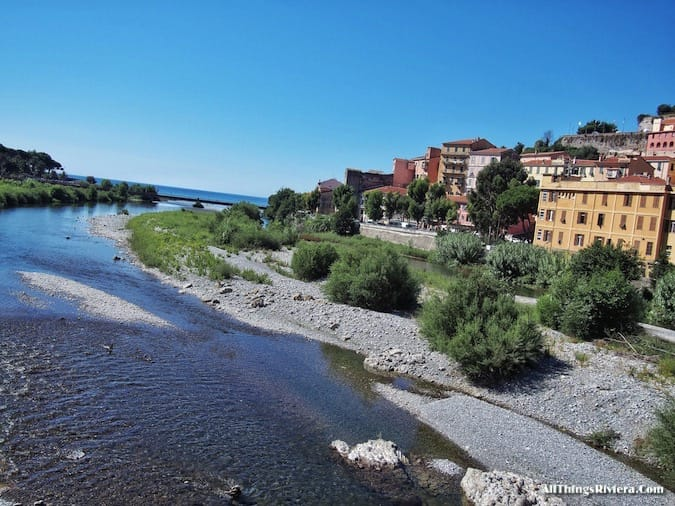 """""""view from the bridge over the Roya - Recommended Brief Visit to Italy"""""""