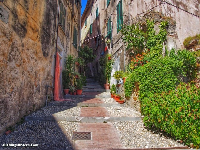 """""""via Saonese in Ventimiglia - Recommended Brief Visit to Italy"""""""