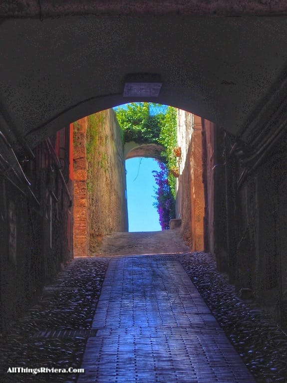 """""""one of the narrow streets in old town Ventimiglia - Recommended Brief Visit to Italy"""""""