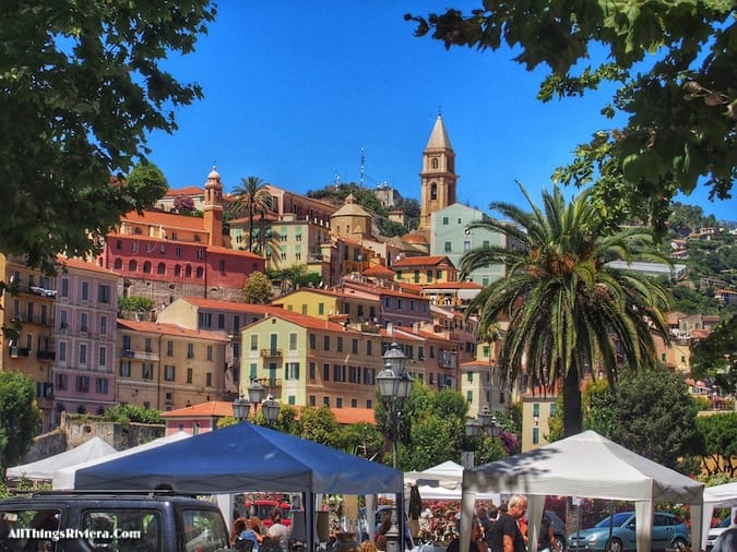 """""""Ventimiglia market - Recommended Brief Visit to Italy"""""""