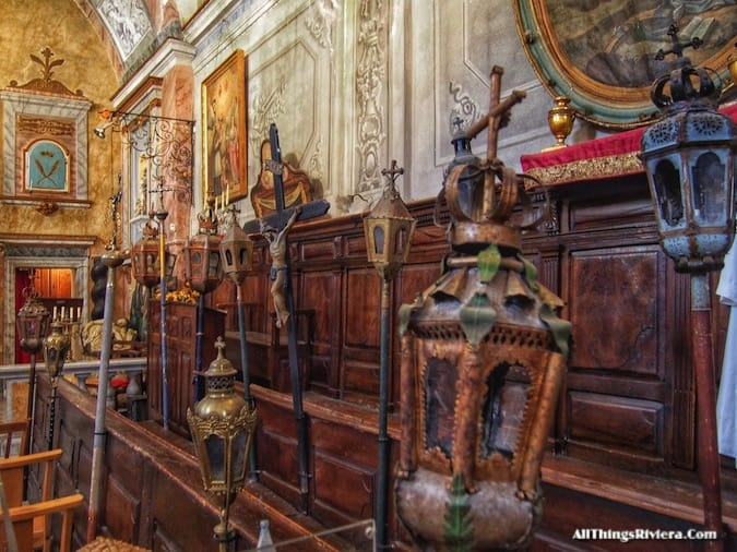 """""""Inside the Sainte Croix Chapel - Most Storied Backcountry Village in the French Riviera"""""""