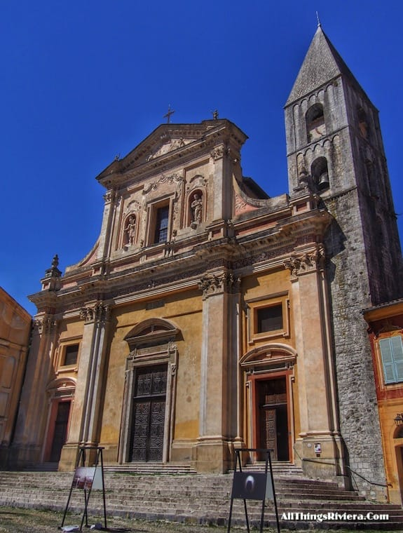 """""""The Cathedral of Sospel - Most Storied Backcountry Village in the French Riviera"""""""