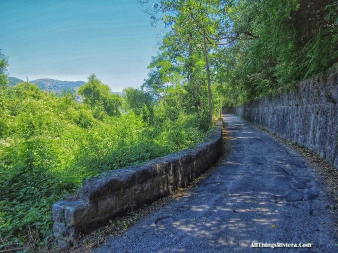 """""""trail head of a small hike - Most Storied Backcountry Village in the French Riviera"""""""