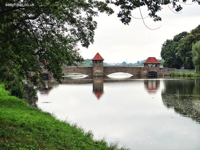 """bridge over Elster river - How We Experienced Plagwitz"""