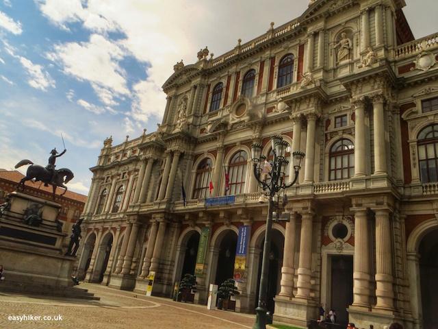 """""""Piazza Carlo Alberto on a town walk in Turin"""""""