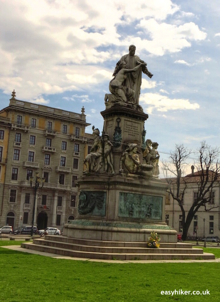"""statue of Carlo Emmanuelle on a town walk in Turin"""