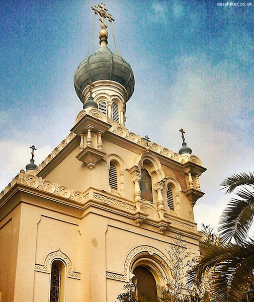 """Russian Churches on the Riviera - Carnoles Menton"""