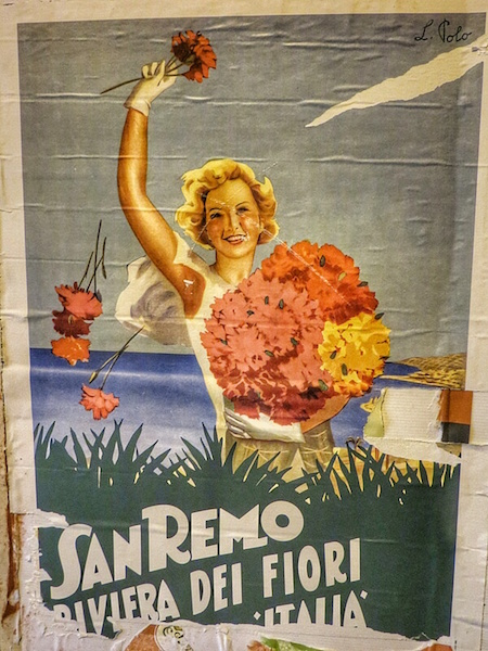"""Old Sanremo poster"""