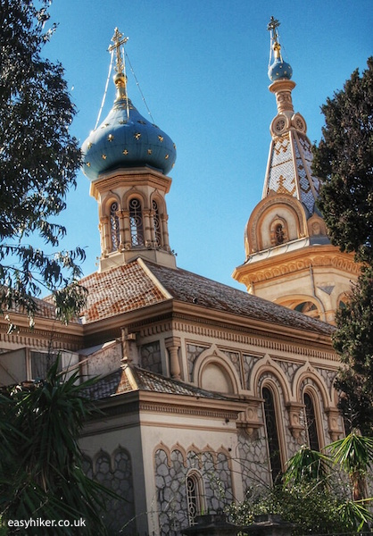 Russian Churches on the Riviera - Cannes""